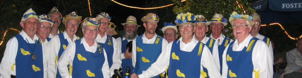 """Martlet Sword and Morris Men"""